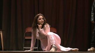 Nida Choudhry Zabardast Stage Dance