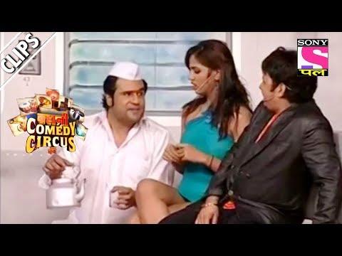 Krushna Sells Tea To Passengers Molly And Sudesh Kahani Comedy Circus Ki