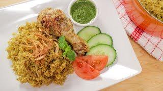 Thai Chicken Biryani (Kao Mok Gai) ข้าวหมกไก่- Hot Thai Kitchen!