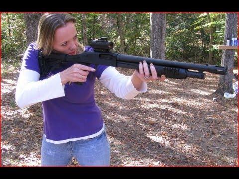Heather s New TactiCOOL Shotgun BOOM BABY