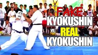FAKE Kyokushin vs REAL Kyokushin Karate