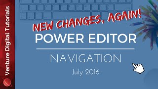 2016 Oct NEW Power Editor Wizard In Facebook - How To