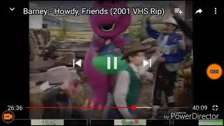 Barney and Friends (Barney: Howdy, Friends!) Say goodbye to the Circus