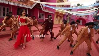 Raj Vishnu heroine hot dance || Vaibhavi hot dance making video || HD || Exclusive || A1 Kannada