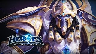 ♥ Heroes of the Storm (Gameplay) Artanis Is Dope (HoTs Quick Match)