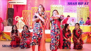 Best Bangladeshi Couple and Group holud dance Ever 4k video | mixed gaye holud songs choreography