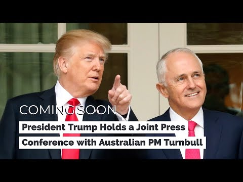 Xxx Mp4 President Trump Holds A Joint Press Conference With Australian Prime Minister Turnbull 3gp Sex