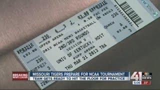 MU Tigers prepare for NCAA tournament
