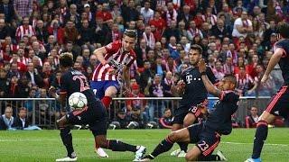 Ligue des Champions 2016 : Demie-finale entre Atlético Madrid VS Bayern Munich (1-0)