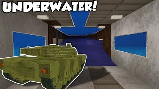 SECRET UNDERWATER BASE TUNNEL! - Voxel Turf Gameplay - City Base Building Game!