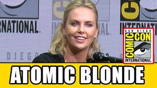 ATOMIC BLONDE Charlize Theron Interview At Comic Con 2017