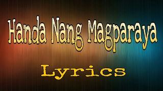 Handa nang magparaya (lyrics) - CPMM