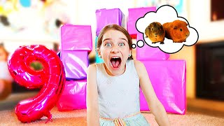 SHE FINALLY GOT THIS AMAZING PRESENT!  Naz 9th Birthday w/Norris Nuts