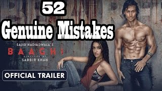 Whats Wrong With BAAGHI ● 52 Baaghi Mistakes ● Baaghi Sins in 6 minutes