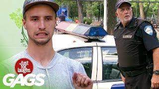 Juicer Throws Tomatoes at Cop Car
