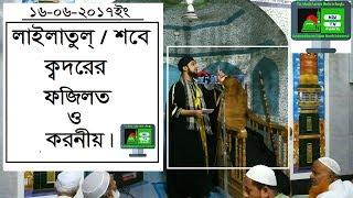 লাইলাতুল ক্বদরের ফজিলত/Lailatul Qadar BANGLA NEW WAZ 16-06-2017 Hasanur Rohman Hossain Nokshebondi