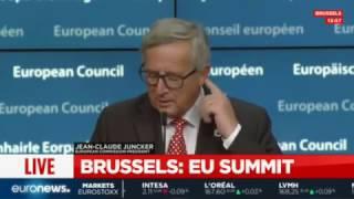 بروکسل؛ نتایج کنفرانس رهبران کشورهای عضو اتحادیه اروپا، پخش زنده