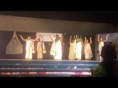 Lamp dance - Chitthirai Kondattam Dayton Tamil Sangam 2017