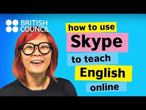How to use Skype to teach English online