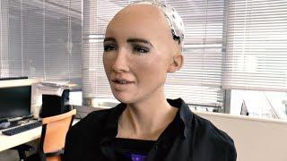 When Chun Wai met Sophia the Robot
