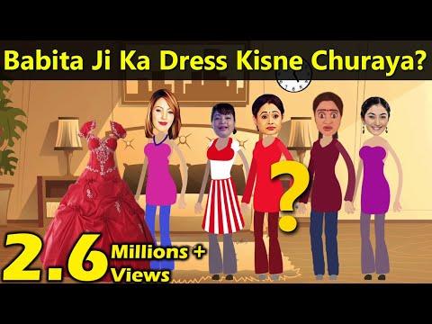 Xxx Mp4 Babita Ji Ka Dress Kisne Churaya Paheli Masala TV 3gp Sex