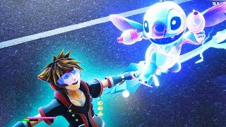 KINGDOM HEARTS 3 - 51 Minutes of Gameplay Only (PS4 X1) Kingdom Hearts 3 Gameplay Trailers