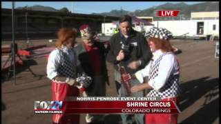 The Circus comes alive on FOX21 Mornings - 7AM Hour