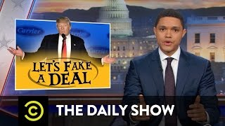 Trump Fakes a Deal: The Daily Show