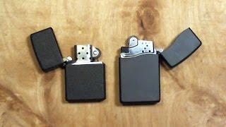 CLASSIC ZIPPO and ZIPPO BLU2 BUTANE lighters