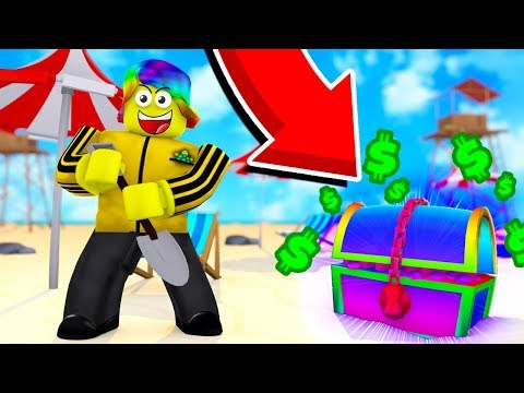 Xxx Mp4 This RAINBOW CHEST That NEVER SPAWNS Made Me TOO RICH Roblox Treasure Hunting Simulator 3gp Sex