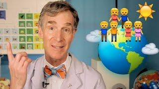 Bill Nye Explains Climate Change with Emoji