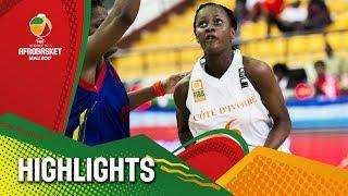 Cote D'Ivoire v CAF - Highlights - FIBA Women's AfroBasket 2017
