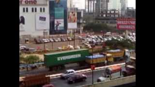 ACCIDENT WHILE WATCHING SINGHAM'S CENTER ONE MALL SCENE SHOOT