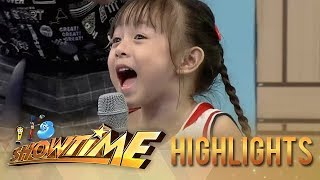 It's Showtime Mini Me 3: Ronnie and Zeus talk with Mini Me contestant Lauren about fears
