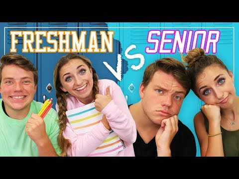 Reality of FRESHMAN vs SENIOR Year in High School!