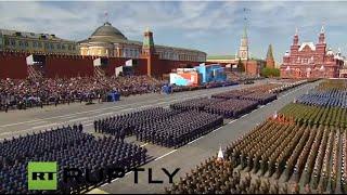 LIVE: Moscow hosts V-Day Parade - ENGLISH