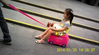 MEMOrazzi : Kids Ch-This China Daddy Just Bought Her Little Girl d Best Pink Panda 4 Wheels