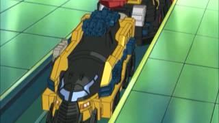 Transformers Energon Omega Train