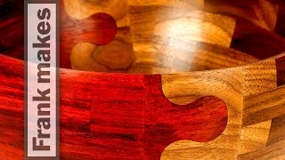 Wedding Bowl: Parts 4 and 5 of 5: The Glue Up and Wood Turning