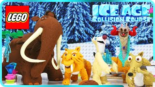 ♥ LEGO PlayDoh Ice Age Collision Course ROCK FROM THE SPACE