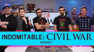 Indomitable: Civil War- Episode 1! | Scott Porter Joins Us as We Recreate Civil War with Heroclix!