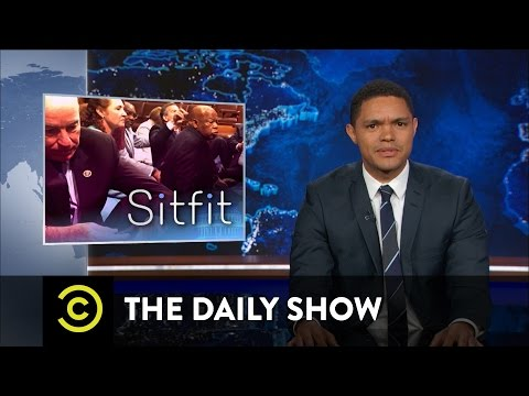 The Daily Show House Democrats Stage a Sit In