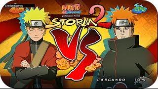 Naruto Shippuden Ultimate Ninja Storm 2 - » Naruto VS Pain « - Español [HD]