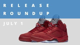 Flight Suit Air Jordan 5 and More | Release Roundup July 1st