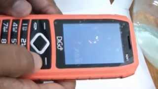 DiGo Mobile Navy N241 Under Water Test