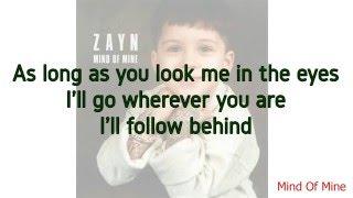 Zayn - rEaR vIeW Lyrics