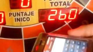 Cómo vaciar una máqina pinball con celular
