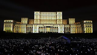 iMapp 555 Bucharest Building Projection Mapping by Maxin10sity (Official)