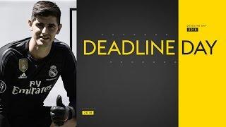 Transfer Deadline Day | Courtois to Real, Mina & Gomes to Everton & Sanchez to West Ham