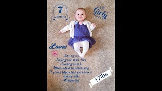 Lila's 7 month video